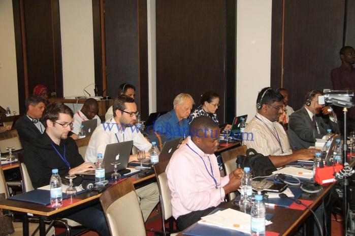 Les images du Forum Africain sur l'appairage et l'interconnexion ouvert ce matin