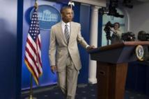 Le costume couleur sable d'Obama enflamme les réseaux sociaux