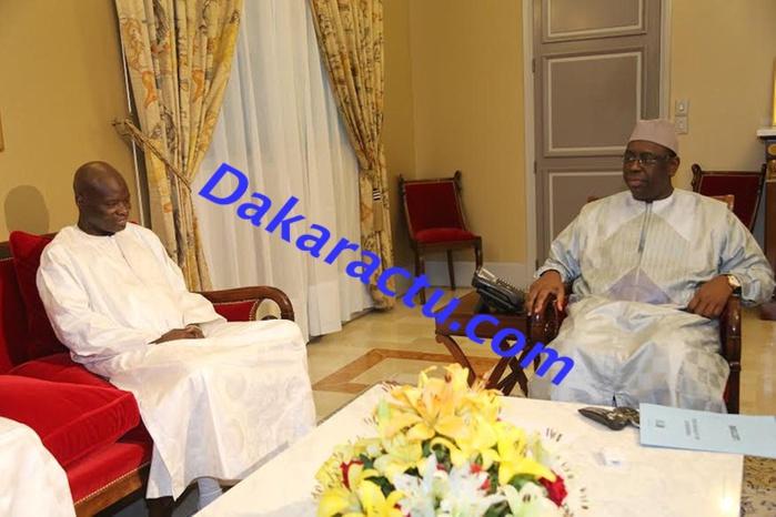 """Omar Pène parle du chef de l'Etat : """"Macky Sall m'a apporté un soutien précieux"""""""