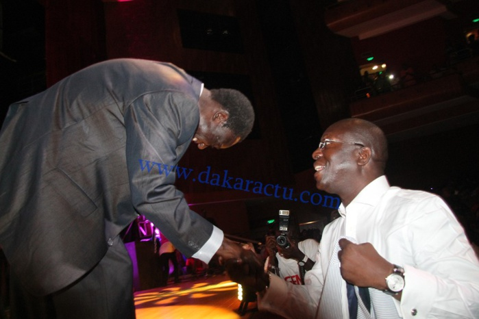 L'ancien Premier ministre Souleymane Ndéné Ndiaye à la soirée retour d'Omar Pène