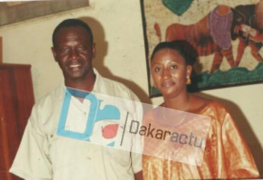 Pr Mbaye NDIAYE et Nafissatou Gassama, promotionnaire de Macky SALL