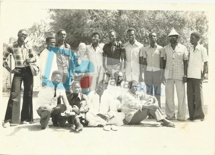 Collège professoral de Macky SALL, année scolaire 1977- 1978.