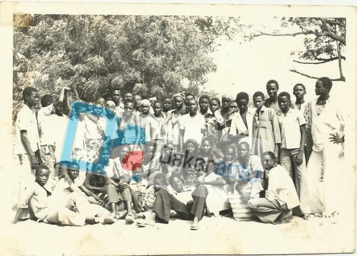Une des classes contemporaines de celle de Macky SALL, année scolaire 1977- 1978