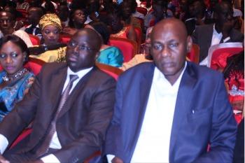 Le Secrétaire d'Etat Youssou Touré et le conseiller spécial Ibrahima N'doye représentaient le palais à la soirée d'Omar Pène