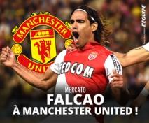 Transfert : Manchester United accepte les conditions de Monaco pour un prêt de Falcao
