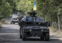 Combats pour le contrôle de l'aéroport de Louhansk en Ukraine