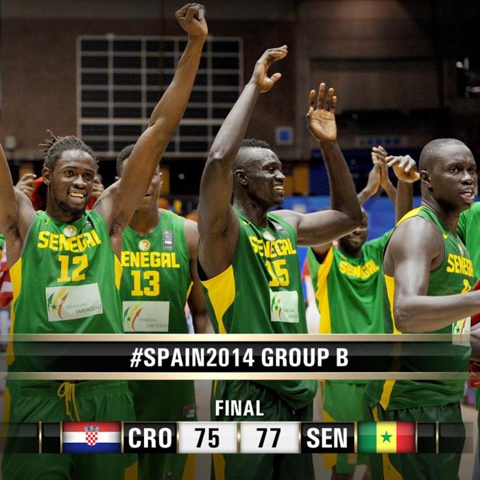 Mondial Basket Ball : Une deuxième victoire historique des Lions aux dépens de la Croatie