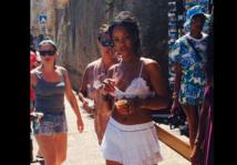 Rihanna fait monter la température à Calvi