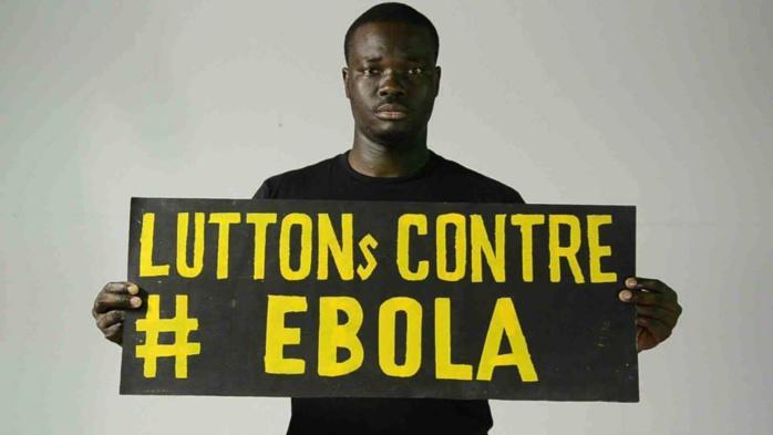 Lutte contre le virus Ebola : les artistes Carlou D, Canabasse et Adiouza sensibilisent les populations