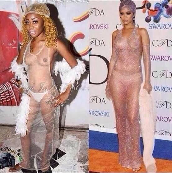 Rihanneuse VS Rihanna....