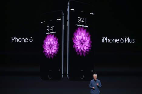 Tim Cook vient de présenter l'iPhone 6 et l'iPhone 6 Plus