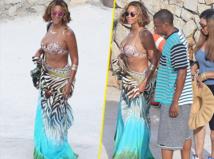Beyoncé : heureuse et radieuse au large de Cannes !