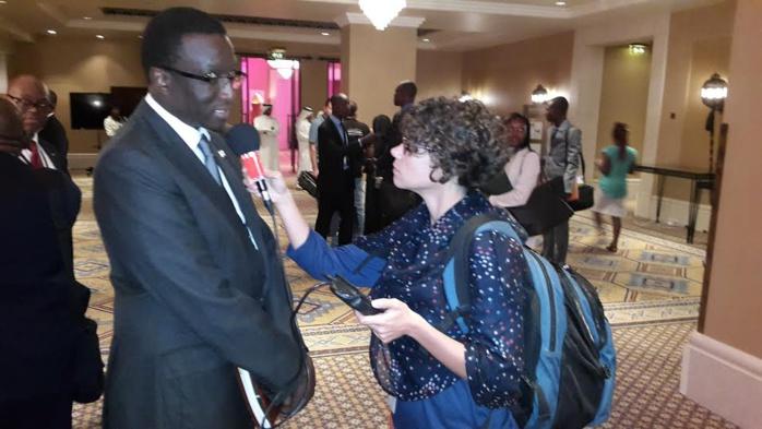 Le ministre Amadou Ba en interview à Dubai avec Gaëlle Laleix de RFI. Il tire ici le bilan du Forum investir dans l'Uemoa.