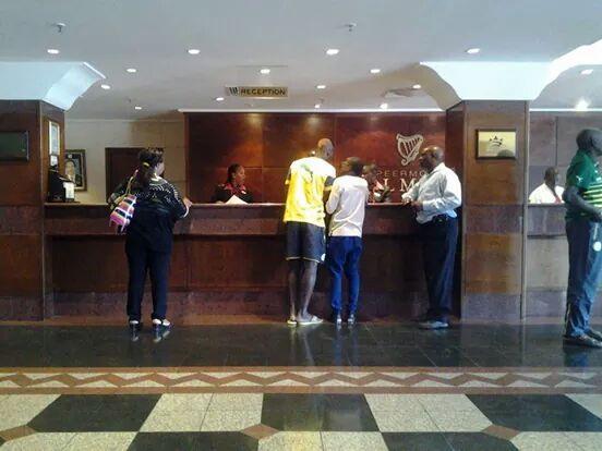 """Quartier libre pour les """"Lions"""" ce matin à l'hôtel Grand palm de Gabaronne"""