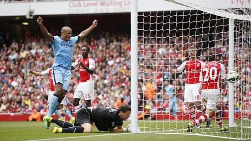 Kompany et City ont failli tout perdre à Arsenal