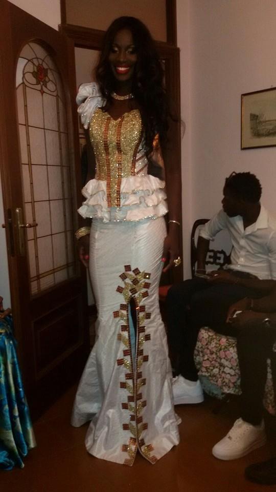 Les images du mariage de la fille de Fallou dieng