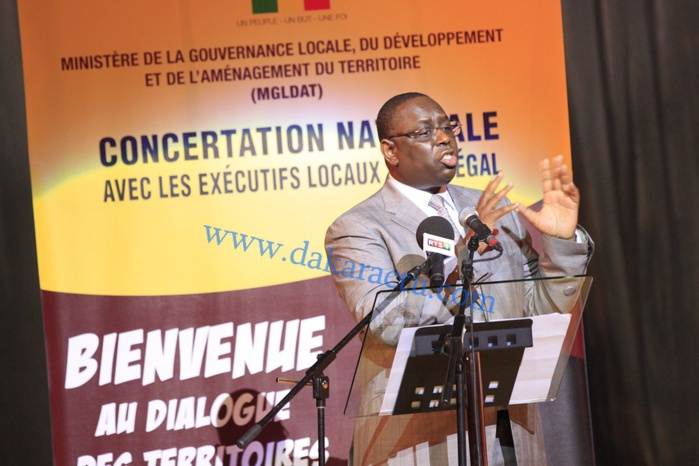 Macky Sall : « Il faut arrêter de dire que l'on combat le maire de Dakar…»