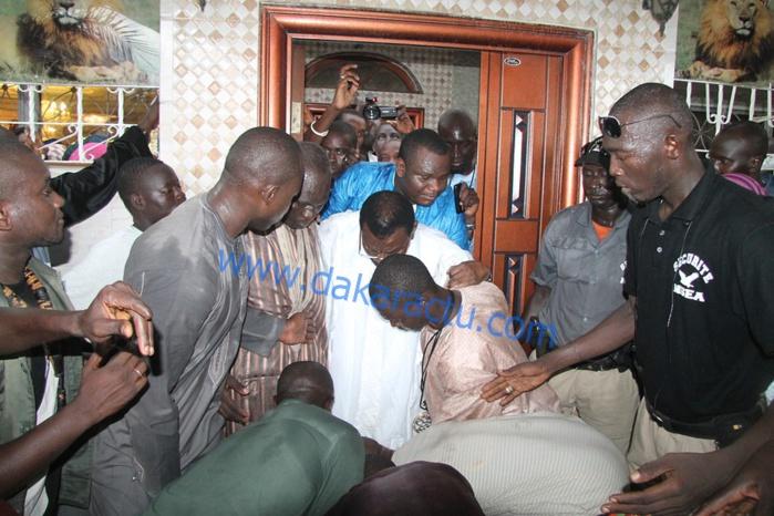 Les images du Ziarr de Cheikh Béthio Thioune chez le khalif général des Mourides Serigne Sidy Mokhtar Mbacké  et chez Serigne Bass Abdoukhadre  Mbacké