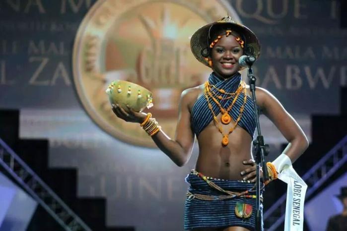 Nafissatou Ba, représentante du Sénégal à l'élection miss globe 2014