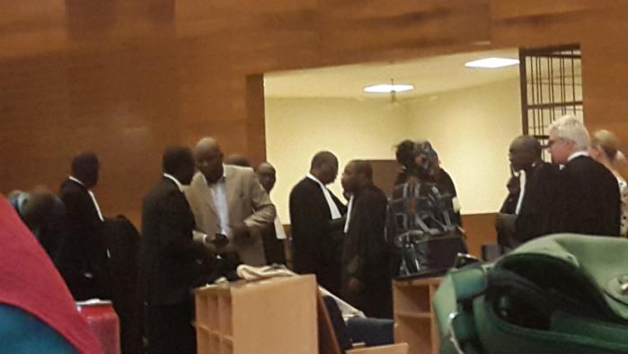Reprise de l'audition de Alioune Samba DIASSE :  la production de nouveaux documents de preuve par le parquet irrite  les avocats de la défense
