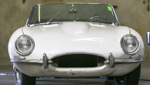 Une Jaguar retrouvée 46 ans après avoir été volée à New York