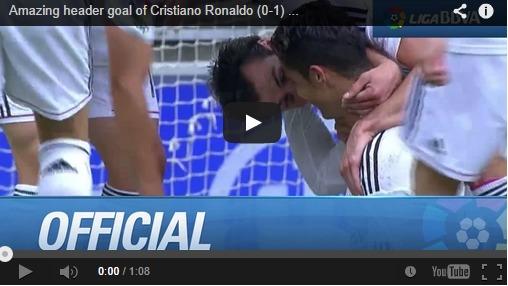 Une détente à 2,6 mètres pour Cristiano Ronaldo