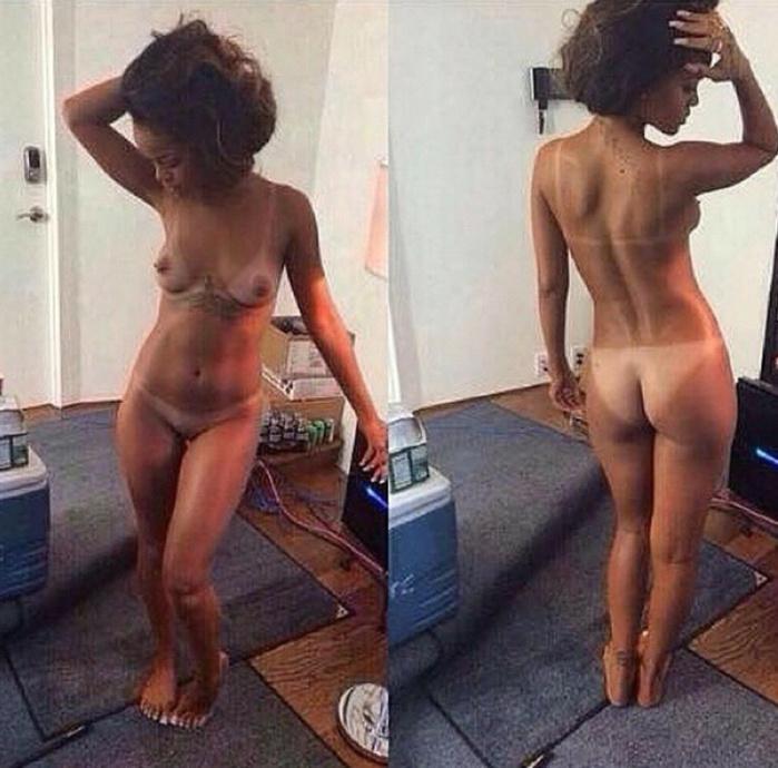 Rihanna pose encore toute nue
