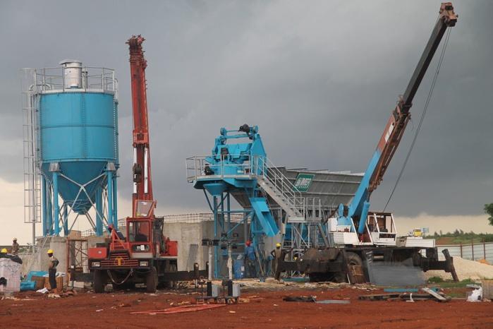 Les projets de Macky sortent de terre : Un chantier de 33 immeubles démarre à Diamniadio (PHOTOS)