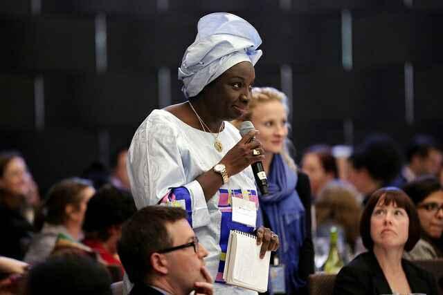Aminata Touré au forum des femmes leaders
