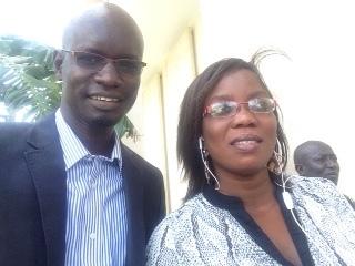 Le nouveau secrétaire général national des jeunesses socialistes et la Présidente nationale des jeunesses féminines