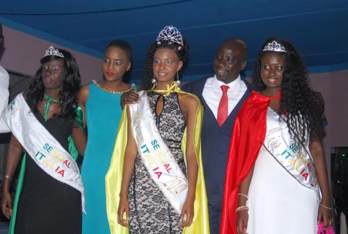 5ème édition de Miss Sénégal en Italie, Oumy N'diaye hérite de la couronne de Désiré Diaw.