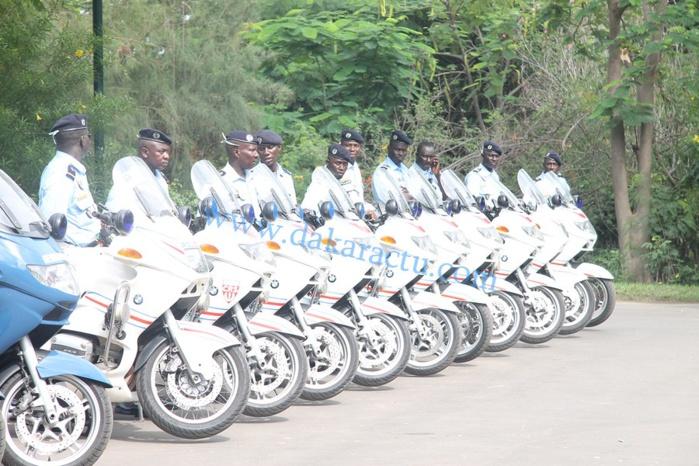 Les images de remise des 20 motos d'escorte par l'ambassadeur de la France au Sénégal, SEM Jean Félix Paganon