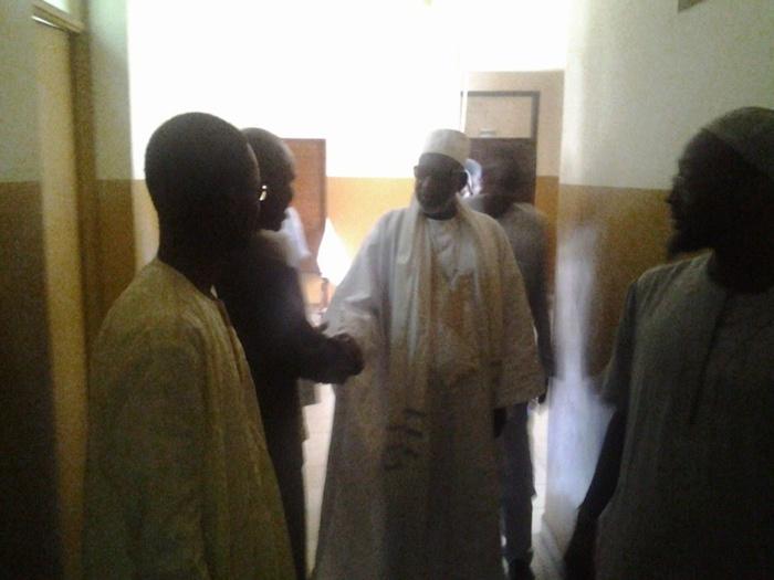 Visite du Khalife Thierno Madani Mountaga Tall à l'Université Cheikh Anta Diop de Dakar