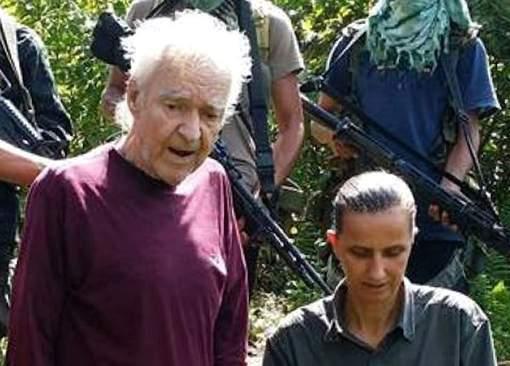 Deux otages allemands lancent un appel à l'aide