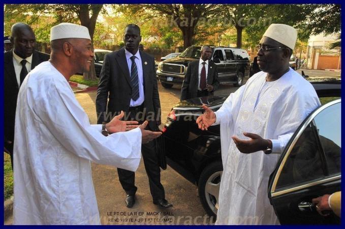 Macky SALL demande le retour d'ATT au Mali