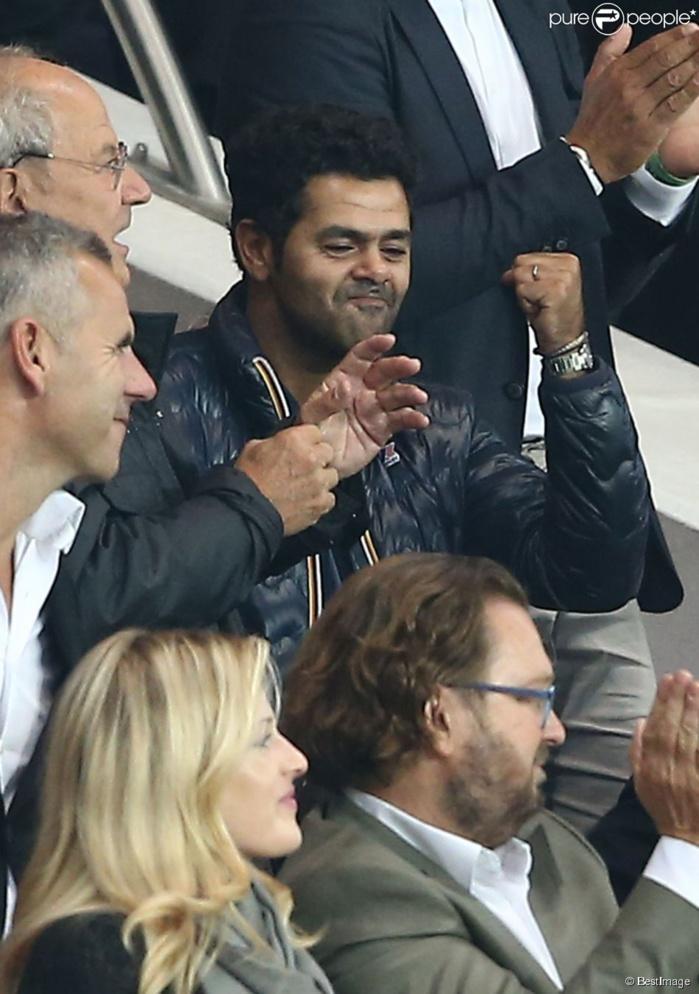 PSG-BARÇA : Jamel Debbouze aussi était dans les tribunes