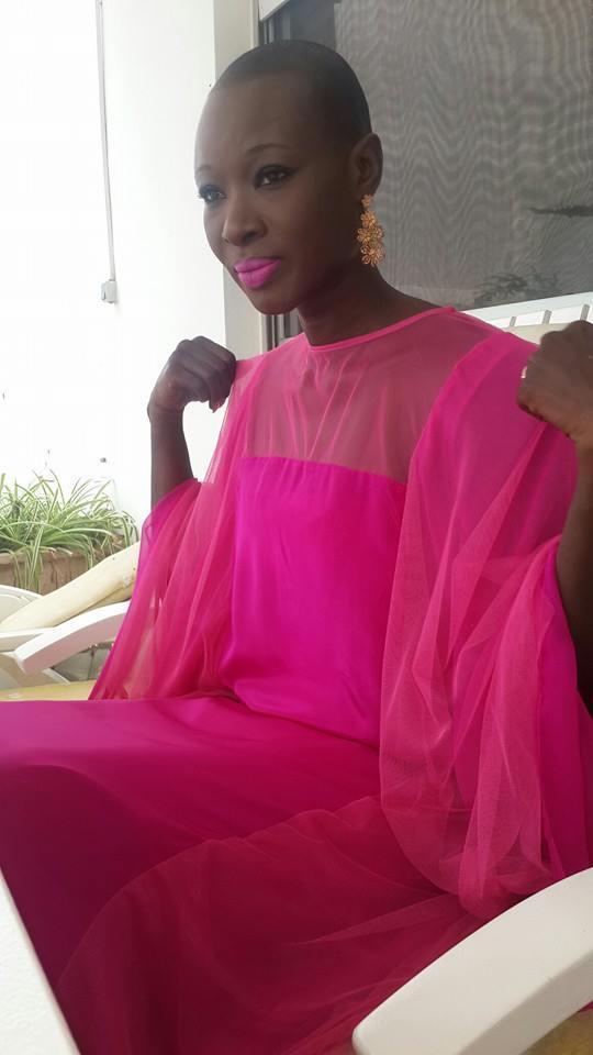 Fleur Mbaye se prépare pour sa nouvelle série