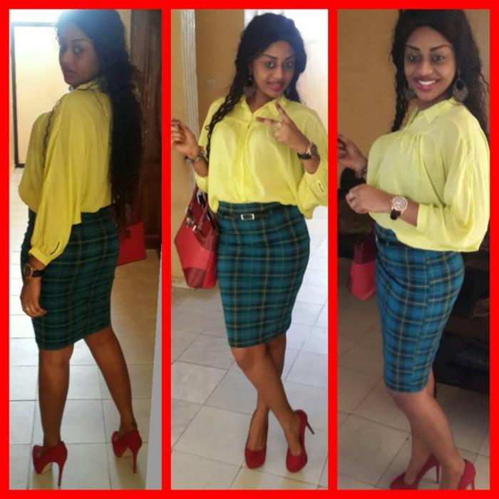Quand l'ancienne miss Sénégal, Penda Ly joue avec les couleurs