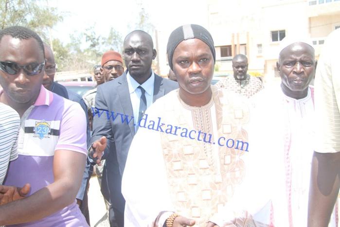 Les images de la levée du corps de Oumar Maal, fils de Baba Maal