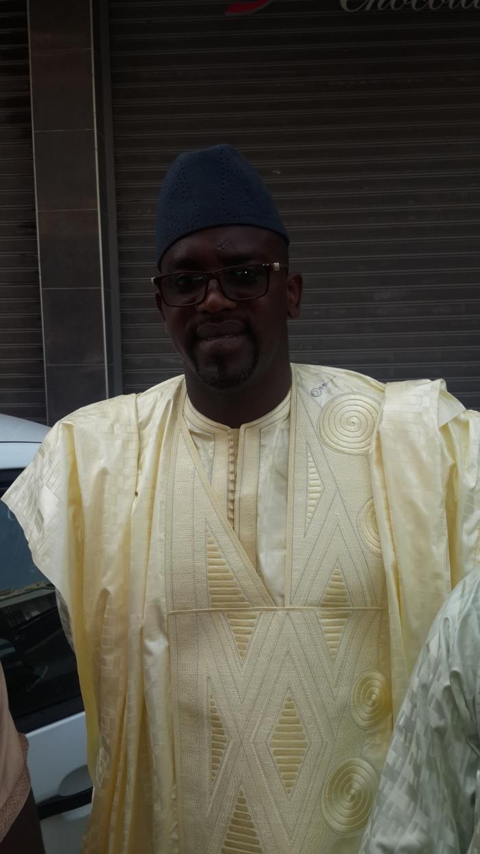 Bara Gueye le patron de Clean Oil au baptême du fils d'Aziz Ndiaye