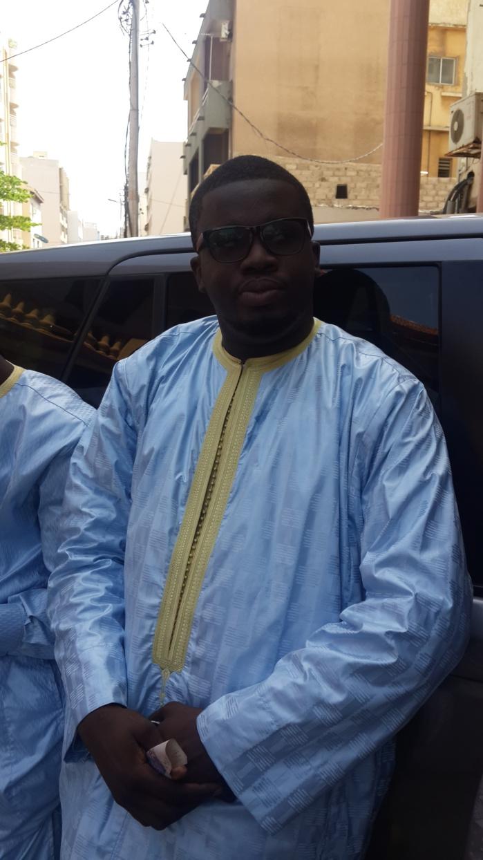 Idy Callé au baptême du fils d'Aziz Ndiaye