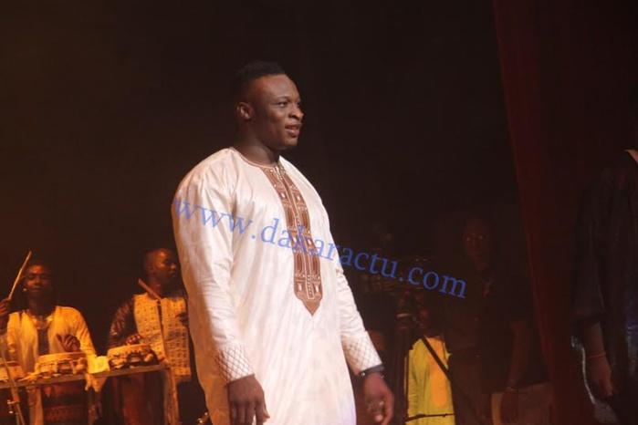 Le lutteur Ama Baldé a chauffé le Grand Théâtre, hier, à la soirée de Pape Diouf