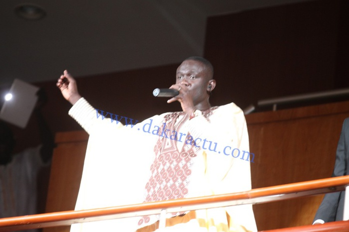 Les images de la soirée de Pape Diouf au Grand Théâtre national