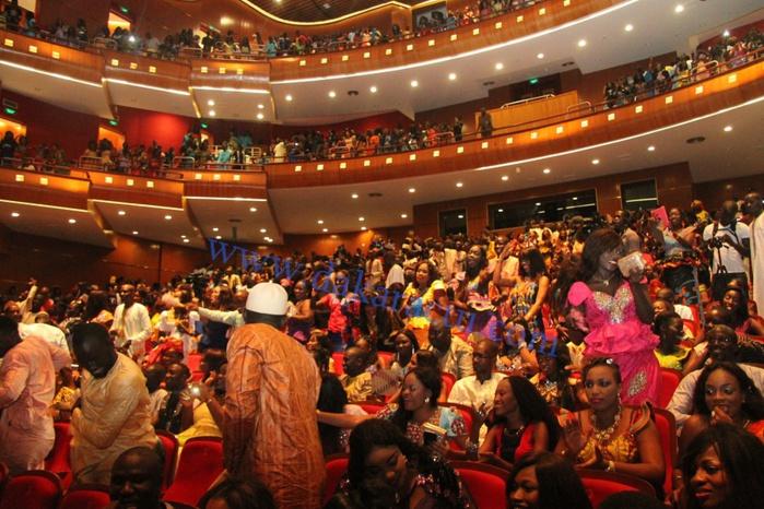 Une vue du public de Pape Diouf, hier, au Grand Théâtre