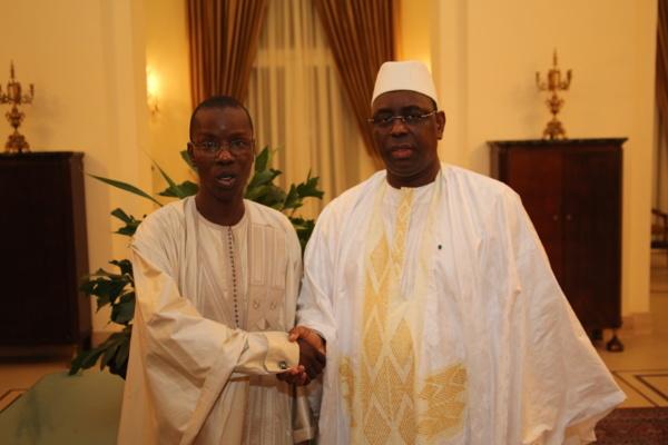 Tabaski : Macky Sall a reçu Mamadou Oumar Bocoum chez lui