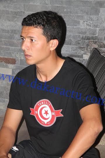 Les images de l'arrivée des joueurs tunisiens au Radisson Blu Hôtel