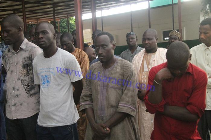 Les images de la levée du corps du fls de Thierno Bocoum