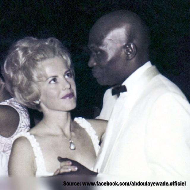 Photo souvenir de viviane et Abdoulaye Wade, qui ont fait 51 ans de mariage