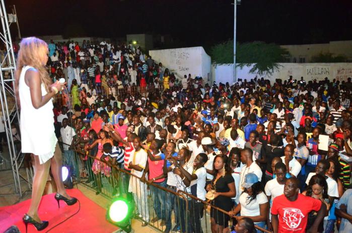 Les images du concert de Coumba Gawlo à Louga