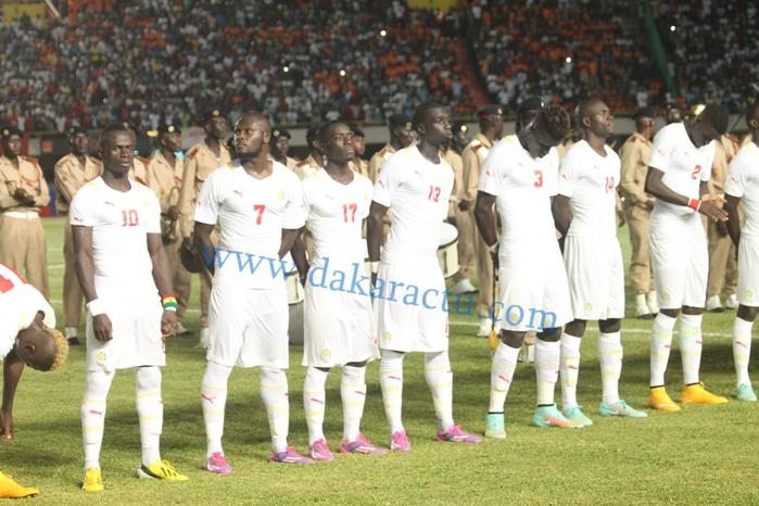 Les images du match Sénégal/Tunisie d'hier, au stade Léopold Sédar Senghor